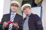 Kapitän und Bootsmann