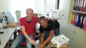 Stefan Marhold und Hans Schmidt