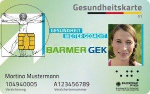 Krankenversicherung: neue elektronische Gesundheitskarte (eGK)